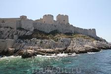 Стены крепости замка Иф