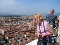Вид с купола Флорентийского собора