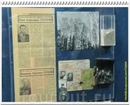 Земля с места гибели, обгоревшие документы, официальные некрологи.