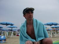 Пляжный отдых не удался :(