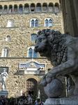 Фламинио Вакка. Лев у лоджии деи Ланци на площади Синьории во Флоренции