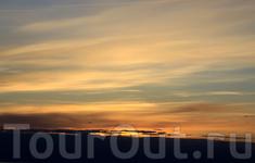 карамельный закат