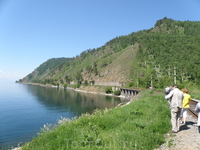 поездка по Круго-байкальской железной дороге