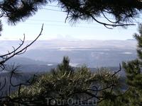 Эльбрус на горизонте