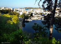 Озеро Вулисмени в Агиос Николаосе