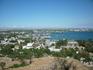 Вид с горы Митридат бесподобен.Современный Керчь и море.