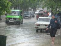 Дождь в Судаке 3.