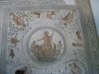 В музее мозаики.