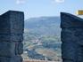 Вид с крепостной стены Сан-Марино
