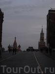 Тяжелый подъем на Красную площадь