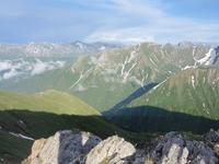 Вид на Междуозерный хребет и долину р. Орзагай