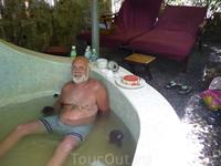Минеральная ванна с травами