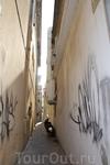 В старом городе  улочки в Ретимно