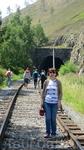 Один из тоннелей КБЖД (Круго Байкальской железной дороги)