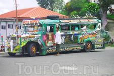 джипни - местный общественный транспорт