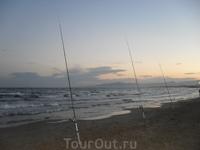Рыбаки есть везде...))