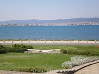 Вид на Солнечный берег со Старого Несебра