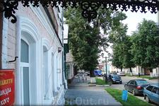 на ул.Ленина