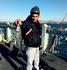 Гуляли в порту. Очень много местных ловят рыбу с моста. Один из них только что поймал вот такую рыбку