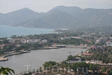 Самуи, вид с обзорной площадки на юго-восток острова.