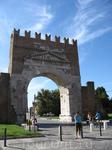 Ворота Августа в  старой части Римини