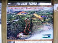 Карта парка развлечений в деревне Санта-Клауса