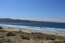 Милый городок Monterey Bay, в котором находится довольно интересный океанариум, в котором будет очень интересно детям.