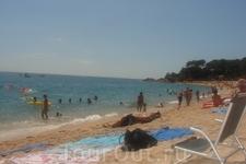 пляж Fenals