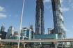 Снова улица Шейха Заида в Дубаи. Улица небоскребов.