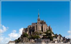 аббатство МОН СЕН-МИШЕЛЬ ( Mont Saint-Michel )