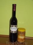Вино Аусбрух и мёд с кунжутом -  с дегустации в Сремски Карловци