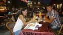 Мы позволили себе покушать в таком дорогом месте, пицца была не вкусной =)))