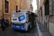 Рим.Местные маршрутки.