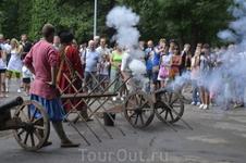 Липецкое городище-2013. Реконструкция петровских сражений