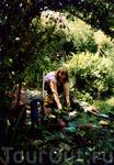 У хозяев нашего домика прекрасный сад, там каждый день можно было фотыть себя любимую в разных ракурсах =) странно, что осталось время сбегать на море ...