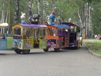 паровозик в парке