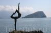 Фотография Статуя гимнастки