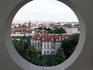 Вид на Прагу из Ботанического сада