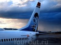 Один из парка самолетов компании Norwegian air, прославляющих национальных героев Норвегии