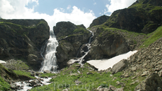 Второй Имеретинский водопад,высота 60 метров