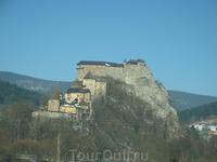 Замок в Словакии по пути из Кракова в Будапешт