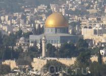 Монумент Куббат ас-Сахра (Купол Скалы) является визитной карточкой Старого города Иерусалима.