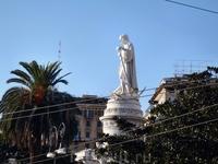 Генуя. памятник Колумбу.