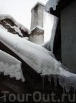 Крыши зимнего Таллина.