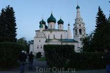 Церковь Рождества Христова , одна из самых красивых церквей Ярославля.