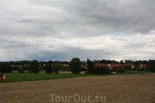 Сельская Франция между Реймсом и Нантом