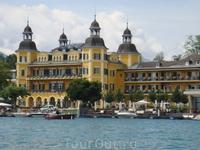Фешенебельный отель Schloss Velden.