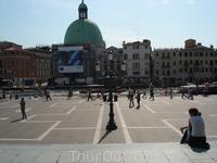 Привокзальная площадь в Венеции
