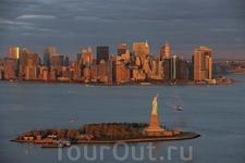 Статуя Свободы, Остров Свободы, Верхний Нью-Йорк