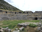 Античный город Лимира.